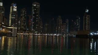 Shimmering Water In Dubai