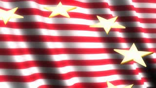 Shining Stars On Flag 3