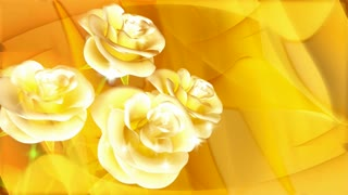 Shiny Yellow Rose