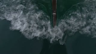 Ship Bow Through Water
