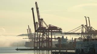 Ship loading docks