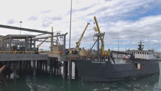Ship Loading Supplies