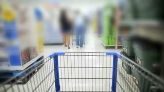 Shopping Cart Blur