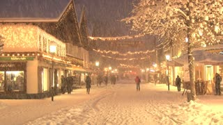Shopping In Snow Storm 3