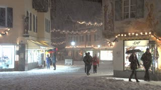 Shopping In Snow Storm 5