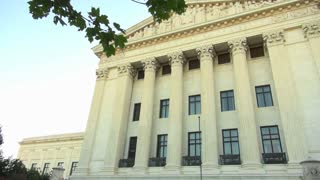 Side View of Supreme Court Building