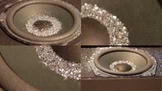 Silver Speaker Montage