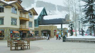Ski Resort Lodge