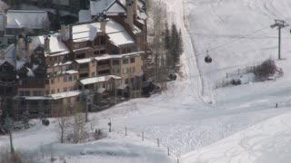 Ski Restort Wide Shot 3