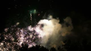 Sky Spark Explosions