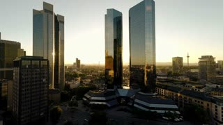 skyline skyscrapers. city cityscape. modern architecture buildings. aerial view
