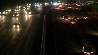Slow LA Traffic