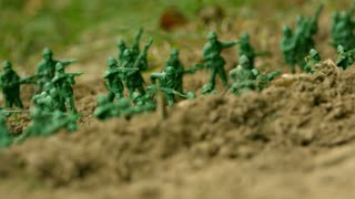 Slow Motion Army Men Battle 1