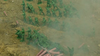 Slow Motion Army Men Explosion 2