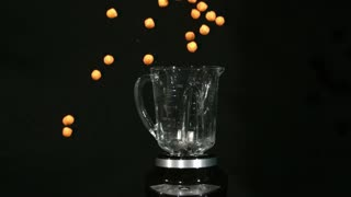 Slow Motion Blender Cheese Balls 1