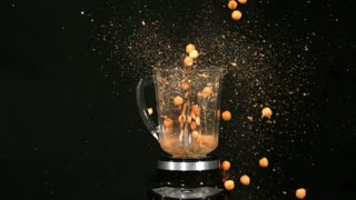 Slow Motion Blender Cheese Balls 2