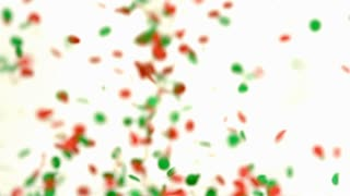 Slow Motion Bouncing Christmas Dots 2