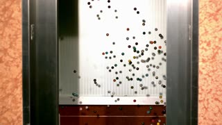 Slow Motion Bouncy Balls in Elevator 1