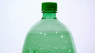 Slow Motion Bubbles in Soda Bottle 1