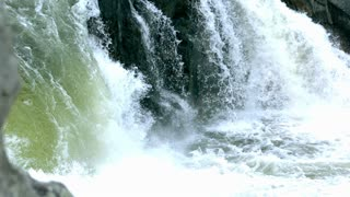 Slow Motion Cascading Waterfalls