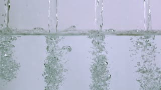 Slow Motion Clear Water Streams 2