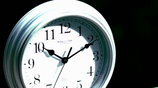 Slow Motion Clock Smash 1