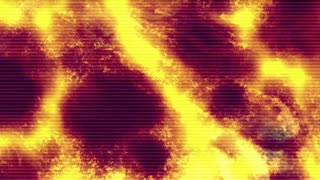 Slow Motion Fiery Texture
