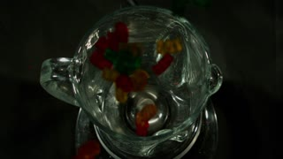 Slow Motion Gummi Bears in Blender