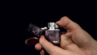 Slow Motion Lighter Sparking