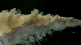 Slow Motion Mixing Smoke