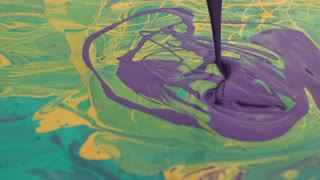 Slow Motion Paint Splatter 2