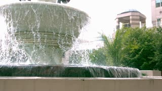 Slow Motion Public Fountain 1