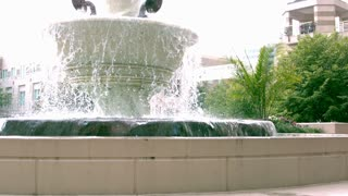 Slow Motion Public Fountain 2