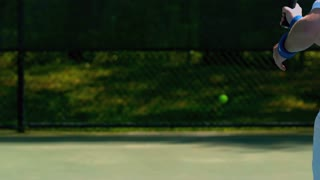 Slow Motion Tennis Forehand Shot 2