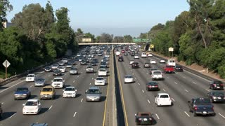 Slow Moving LA Day Traffic
