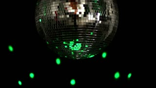 Slow Spinning Disco Ball