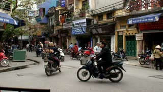 Small Vietnam Traffic Intersection