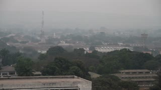 Smokey Haze Over Kinshasa