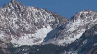 Snow Covered Vail Mountains