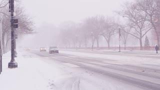 Snow Storm Street