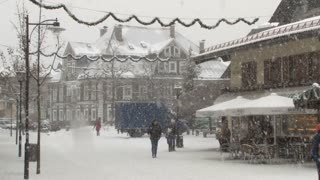 Snowing On Main Street