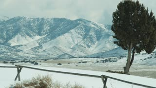 Snowy Landscape in Utah 3