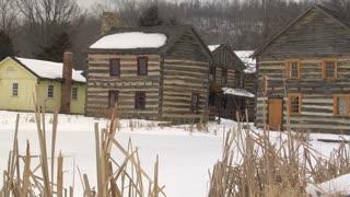 Snowy Pioneer Town