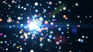 Social Media Particles