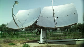 Solar Pannels That look Like Satellite Dishes 2