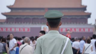 Soldier in Forbidden City