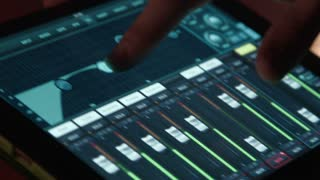 sound producer using touchpad