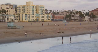 Southern California Beach in Early Evening