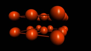 spanning red ball and line