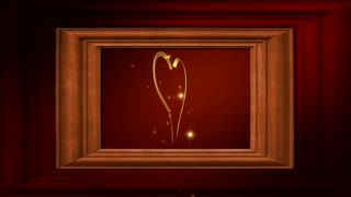Spark of Love in a Frame
